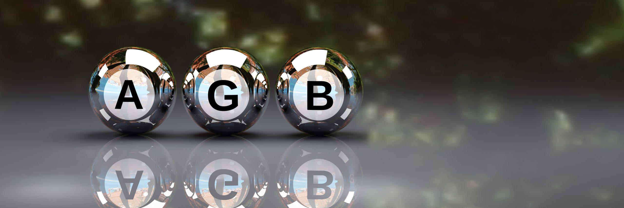 Allg. Geschäftsbedingungen - AGB